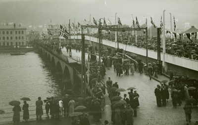 Funkisbroa i Drammen sto ferdig i 1936
