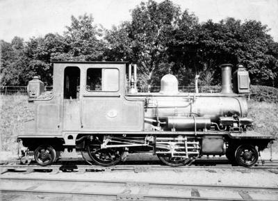Setesdalsbanens damplokomotiv type XXII nr