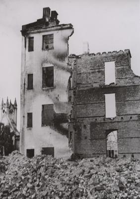 Utbombet bygning