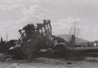 Nedskutt Junkers 52 ved Ringebu i Gudbrandsdalen 14/4-1940