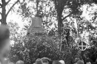 Fra nasjonals samlings riksmøte på Stiklestad i 1934