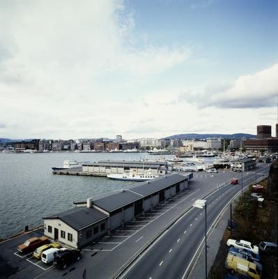 Utsikt fra Akershus.