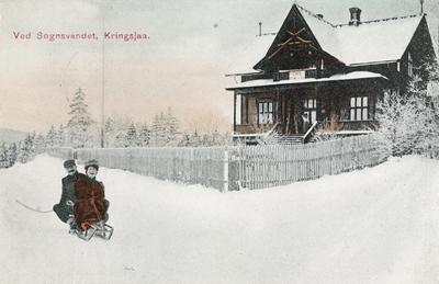 Ved Sognsvandet, Kringsjaa.