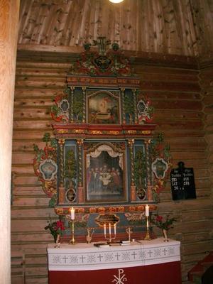 Interiør fra Ålvundeid kirke