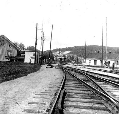 Planoverganger på Porsgrunn stasjon
