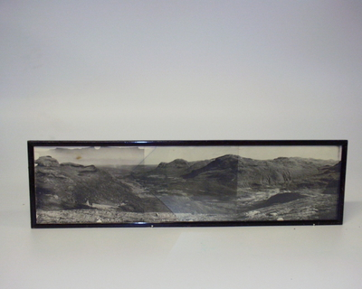 Fotomontasje i glass og ramme