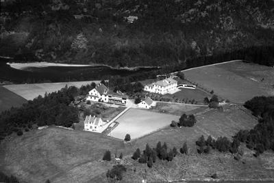 Sanatorium mark fjell skog