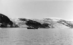 Tærskald-tunnelen 1265 m - 7m² (september 1953 - februar 1955)<br/>Foto: Thorleif Hoff