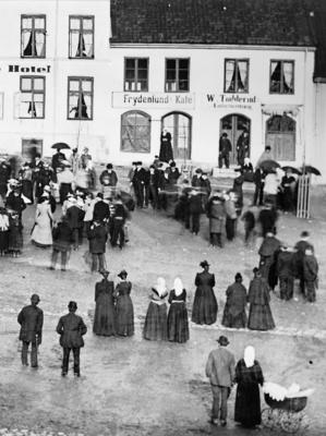 Stortorget i Hamar