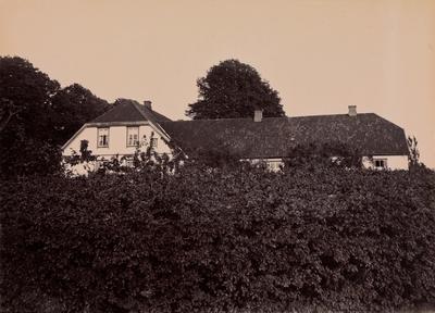 Thorsö herregård sett fra hagen