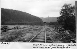 Jernbanelinjen<br/>Foto: Olaf Strand