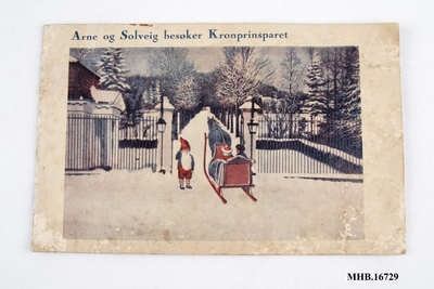 Arne og Solveig besøker Kronprinsparet