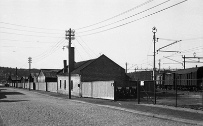 Halden stasjon og gateparti