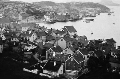 Foto tatt fra Bjønnahaugen mot Grunden (Nordlandet sentrum)