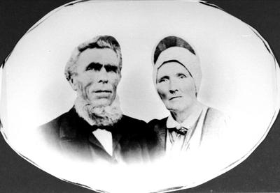 Ekteparet Torkel og Mari Homme (ytre)