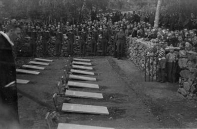 Russiske graver på Hol i Sunndal