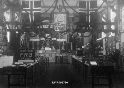 Fra skogbruksutstillingen i Elverum i 1906
