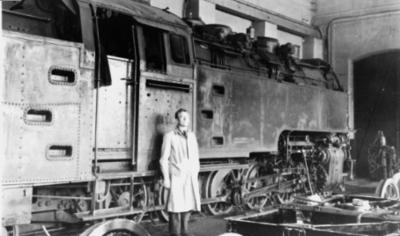 Thamshavnbanens damplokomotiv nr