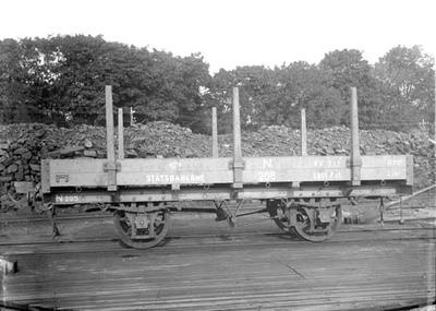 Setesdalsbanens stakevogn litra N nr